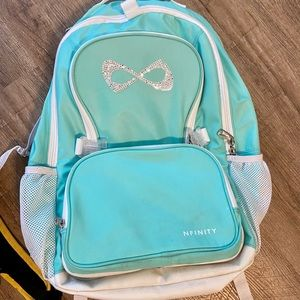 Nfinity cheer backpack with sparkle swoosh